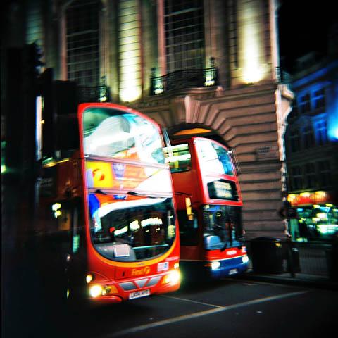 Busser i London