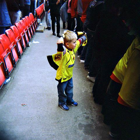Watford-supporter