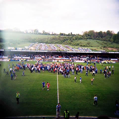 Wycombe Wanderers - opprykk - promotion